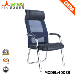 Mesh Back Leather Seat Office Chair