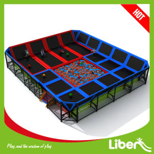 Easy to Install Indoor Trampoline Park with Foam Pit pictures & photos
