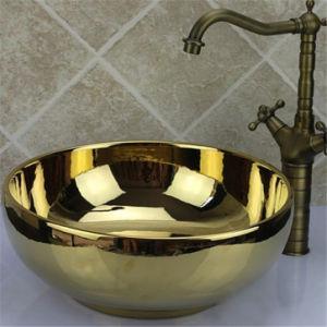 Bathroom Fitting Wash Basin Ti-Gold Vacuum Coating Machine pictures & photos