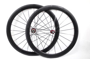 700c 50mm Tubular Full Carbon Bicycle Wheels (BX-W50T)