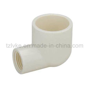 PVC Reducing Female 90 Degree Elbow (F*S, ASTM) pictures & photos