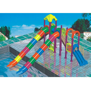2017 Hot Sell Outdoor Water Park Fiber Glass Water Slide (JS5028) pictures & photos