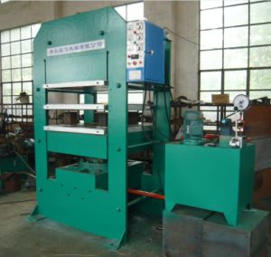 Vulcanizer Frame Type Plate Vulcanizing Rubber Machine pictures & photos