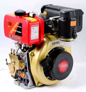 7HP Air-Cooled 4-Stroke Diesel Engine (D178FA) pictures & photos