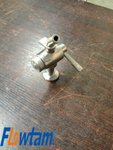 Sanitary Stainless Steel Sampling Valve pictures & photos