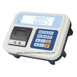 Electronic Digital Platform Weighing Scale with Printer pictures & photos