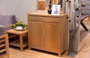 Oak Wood Shoe Cabinet Wooden Goods Cabinet (M-X1060) pictures & photos