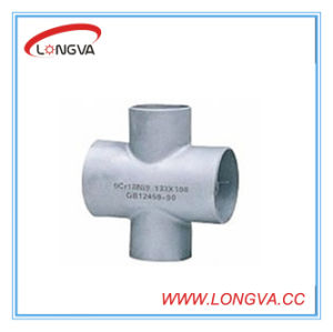 Ss 316 Pipe Fitting Industrial Cross pictures & photos