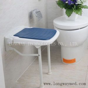 Blue Foldable Bathroom Chair (LW-AI-Chair)