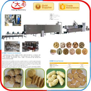 Textured Soya Protein Machine/Soya Nuggets Making Machine pictures & photos