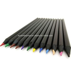 Black Wood Color (colour) Pencil pictures & photos