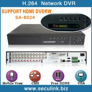 24CH H. 264 Standalone HDMI CCTV DVR (SA-8024V)