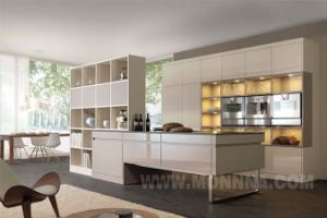 Modern Lacquer High Gloss Integrated Kitchen Factory with ISO Standard