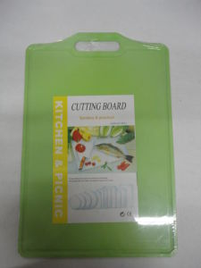 Plastic Vegetable Cutting Board pictures & photos