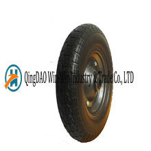 Solid PU Wheels for Wheelbarrow Made in China (3.50-7) pictures & photos