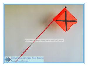 FRP Flagpole, Fiberglass Pultrusion Tube and Rod, Fiberglass Folding Flagpole pictures & photos