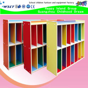 China Famous Wooden Kindergarten Furniture Wooden Cabinet Factory (HB-04301) pictures & photos