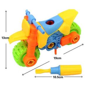 Newest Hot Sale DIY Motorcycle Toy for Children pictures & photos
