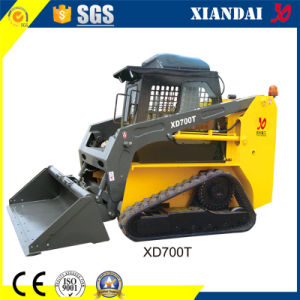 0.3cbm 700kg Tracked Skid Steer Loader with CE pictures & photos