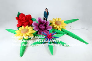 Giant Inflatable Flower Blossomcluster for Wedding Party Decoration