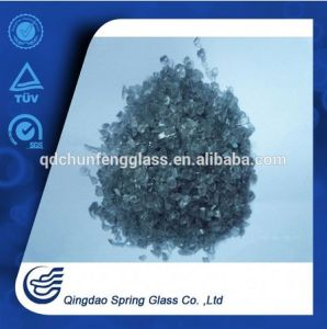 Black Crushed Glass for Biulding pictures & photos