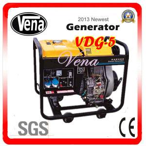 5 Kw Portable Diesel Generator Vdg-5 pictures & photos