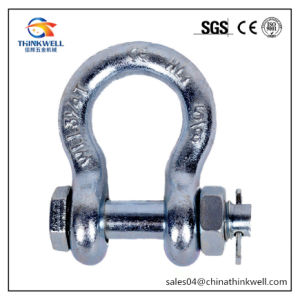 G2130 Bolt Type Stainless Steel Anchor Shackle with Pin pictures & photos
