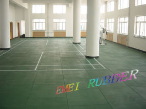 Kids Indoor Rubber Flooring for Sports pictures & photos