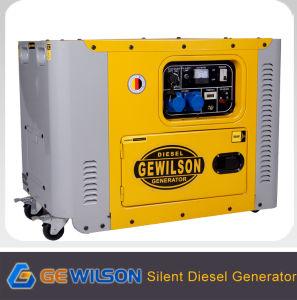 Portable Gewilson Soundproof Diesel Generator pictures & photos
