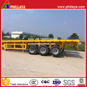 Container Transport Flatbed Trailer Manufacturer pictures & photos