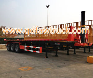 Brand New 2 Axles Container Semi Trailer For Sale pictures & photos