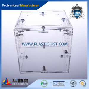 Custom Made Clear Acrylic/Plexiglass Display Boxes-Hst pictures & photos