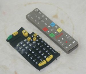 Concave-Convex Tactile Membrane Switch Keyboard High Sensivity Rubber Key pictures & photos