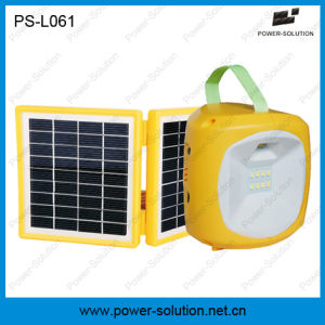 Mini Portable Solar LED Lantern Light with USB Charger pictures & photos