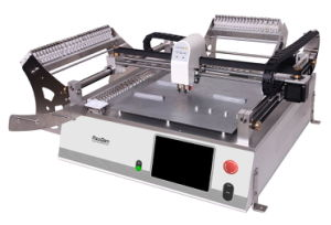 Neoden3V Desktop Pick and Place Machine with Vision System Max Support 44 Tape Reel Feeder pictures & photos