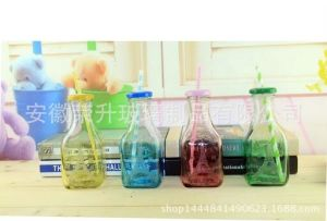 12oz/380ml Glass Milk Bottle/Glass Bottle for Juice/Beverage/Bottle pictures & photos