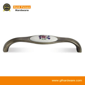 Zinc Alloy Ceramic Cabinet Handle (C826 CP-Y) pictures & photos