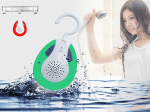 Waterproof Hook Design Bluetooth Shower Speaker with FM pictures & photos