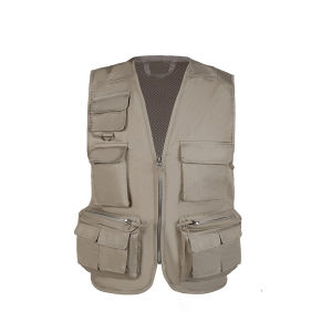 Mens Design New Style Bullet Journalist Vest pictures & photos