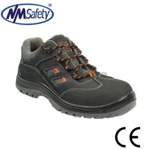 Nmsafety S3 Nubuck Leather Low Cut Work Safety Shoes pictures & photos