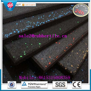 Factory Direct Sell Fire-Resistant Antibacterial Rubber Flooring Mat Indoor Rubber Tile Anti-Slip Rubber Flooring pictures & photos