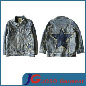 Cute Fashion Boys Denim Jacket (JT8018) pictures & photos