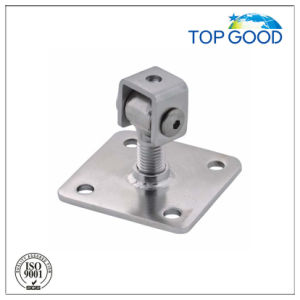 Stainless Steel Welding Gate Hinge with Plate pictures & photos