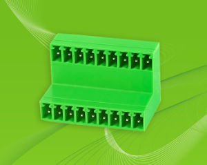 PCB Pluggable Terminal Block with Dual Row Pin Header pictures & photos