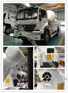 HOWO Mixer Truck 8m3 9m3 pictures & photos