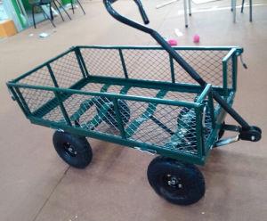 Factory Outlets Center Beach Cart Steel Mesh Garden Cart pictures & photos