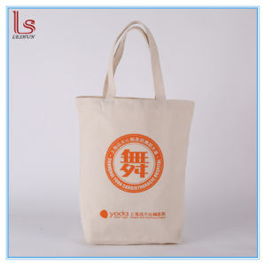 Canvas Printed Logo Packing Cotton Bags Custom Made Hand Bag pictures & photos