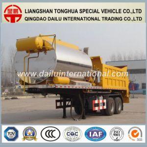 Asphalt Distribution Semi Trailer Bitumen Tanker Truck Trailer pictures & photos
