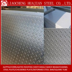 10X1250X6000mm Checkered Plate with Q235B Material pictures & photos
