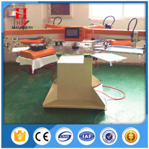 Single Color Automatic Rotary Label Silk Screen Printing Machine pictures & photos